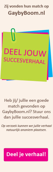 Succesverhalen GaybyBoom
